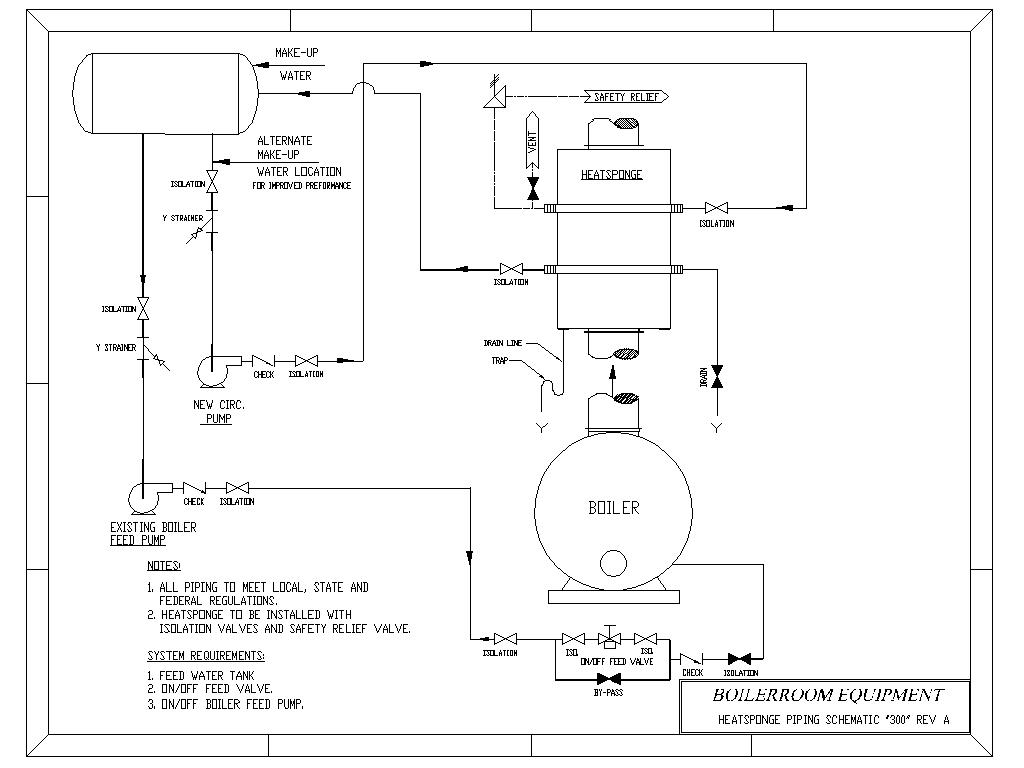 Hot water boiler piping schematic boiler for Plumbing schematic